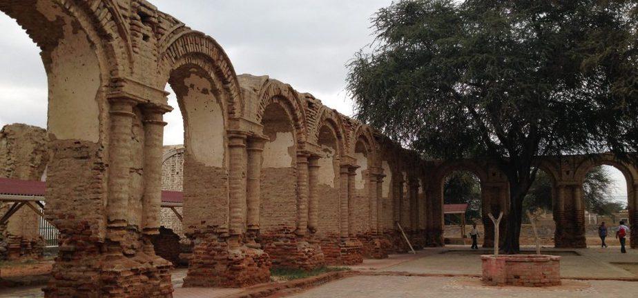 Ruins in a rural Peruvian city