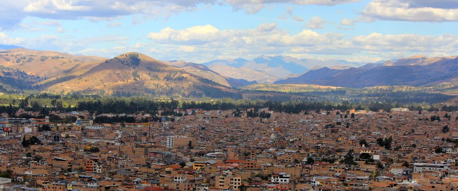 The city of Cajamarca