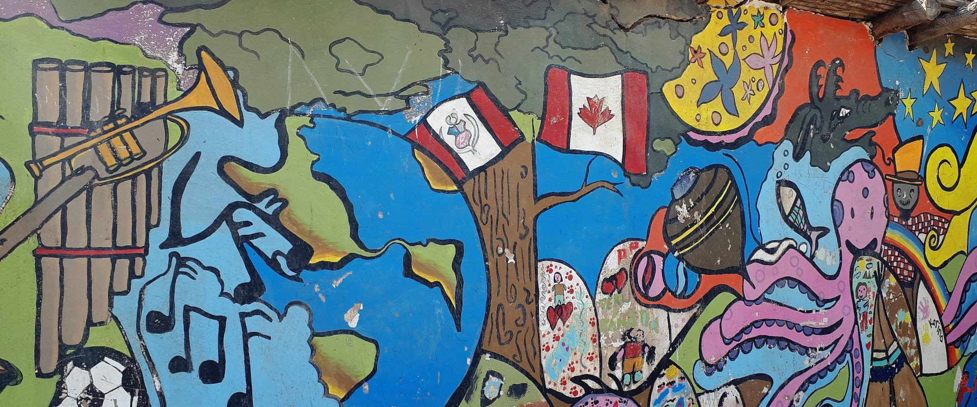 canada-peru mural