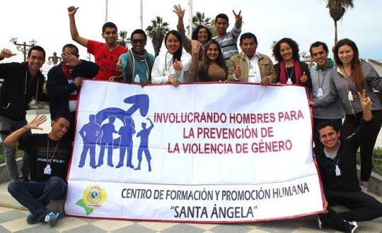 Men against violence against women