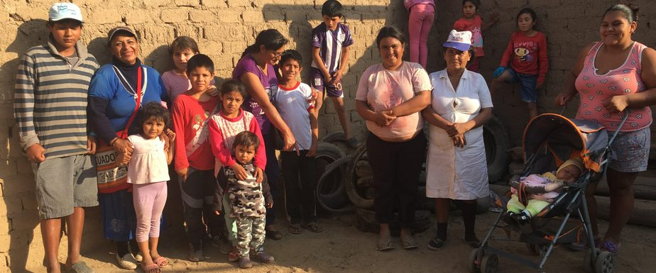 Group of families with children with disabilities.