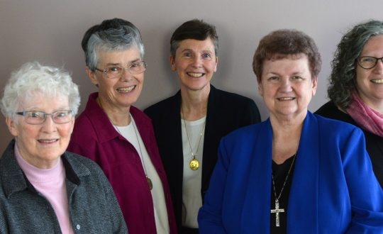 5 sisters of st. martha smile for the camera